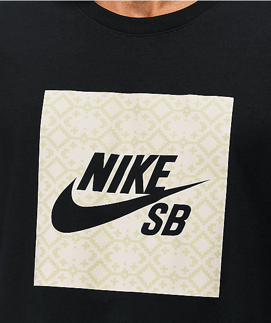 Nike SB Tundra Logo camiseta negra
