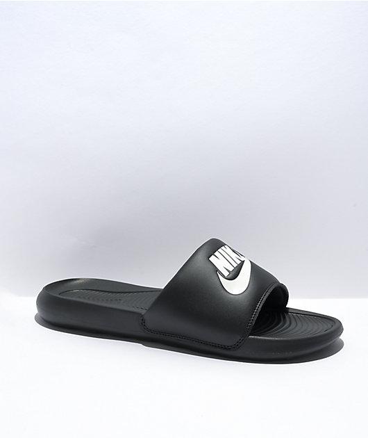 Nike SB Victori One Black & White Slide Sandals