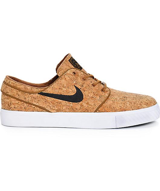 filósofo físico sistemático  Nike SB Zoom Stefan Janoski Elite zapatos de skate de corcho de color  cerveza negro | Zumiez