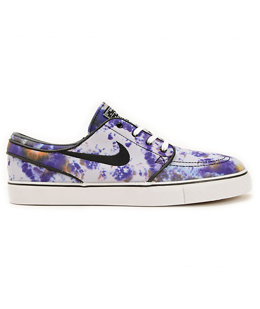 Nike SB Zoom Stefan Janoski QS Tie Dye Skate Shoes