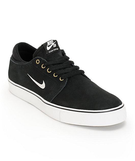 Nike SB Zoom Team Edition Black \u0026 White