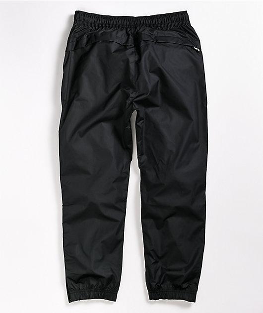juez Pantera Amante  Nike SB pantalones de chándal negros y FOS grises | Zumiez