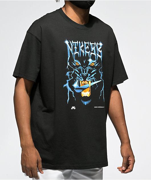 Nike SB x Samborghini Black T-Shirt