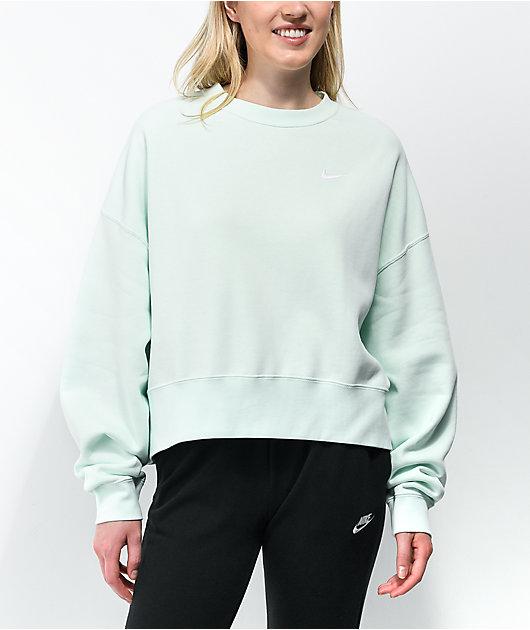 Nike Sportswear Green Crewneck Sweatshirt