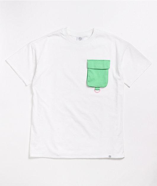 Ninth Hall Casey White Pocket T-Shirt