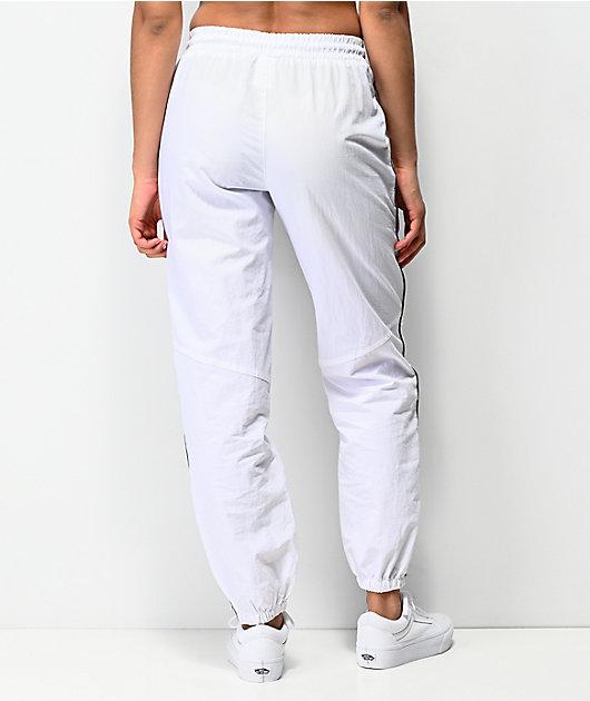 Ninth Hall Edison pantalones de chándal blancos y reflectantes