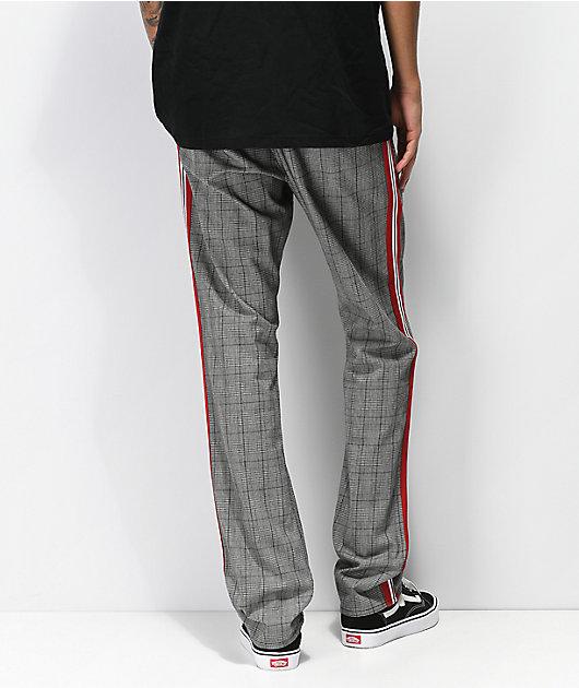Ninth Hall Highland pantalones de tartán gris