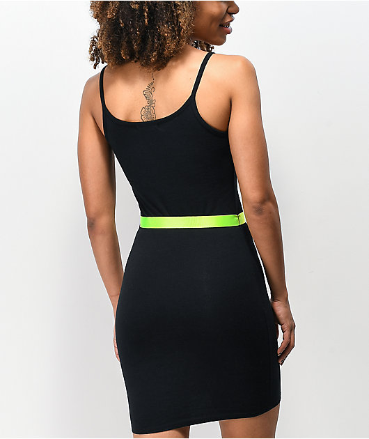 Ninth Hall Libby Black Belted Dress