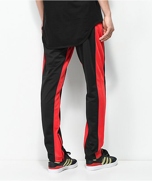 Ninth Hall Nordberg Black & Red Track Pants