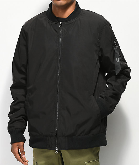 Ninth Hall Privation chaqueta bomber negra