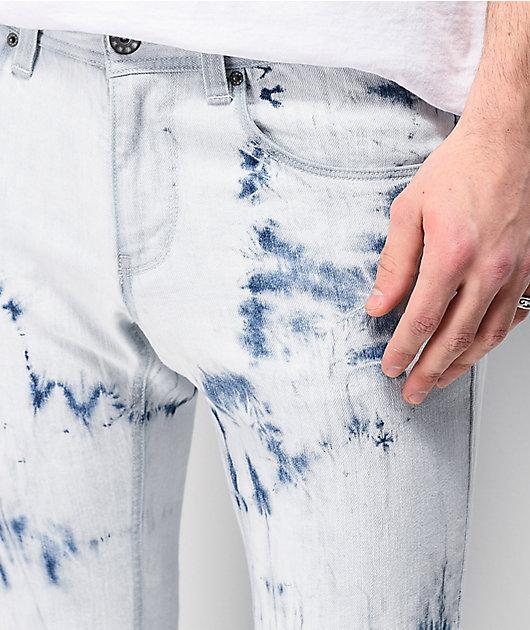 Ninth Hall Rogue Taped Cyclone Skinny Denim Jeans