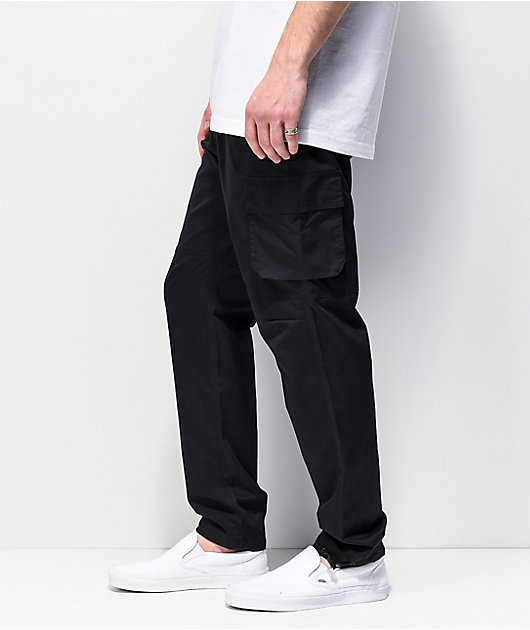 Ninth Hall Trance Black Cargo Pants