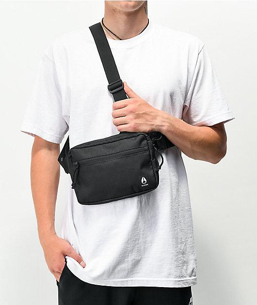 Nixon Bandit Black Chest Bag