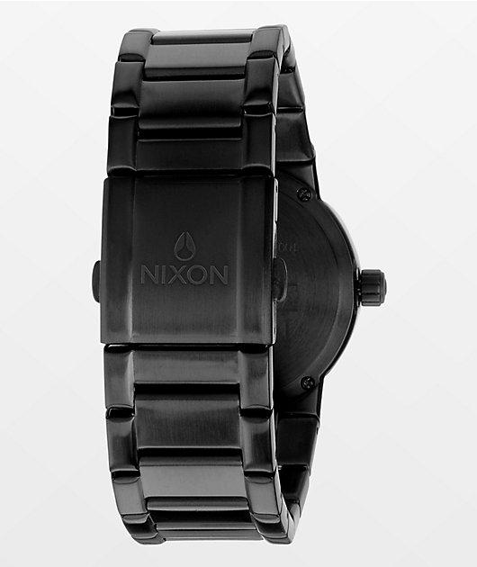 Nixon Cannon All Black Analog Watch