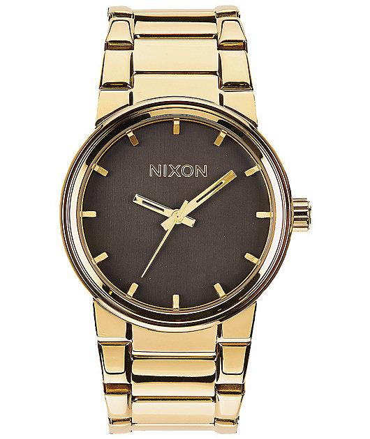 Nixon Cannon All Gold & Black Watch