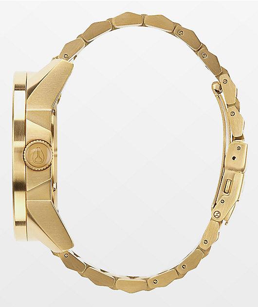 Nixon Corporal SS All Gold & Black Analog Watch