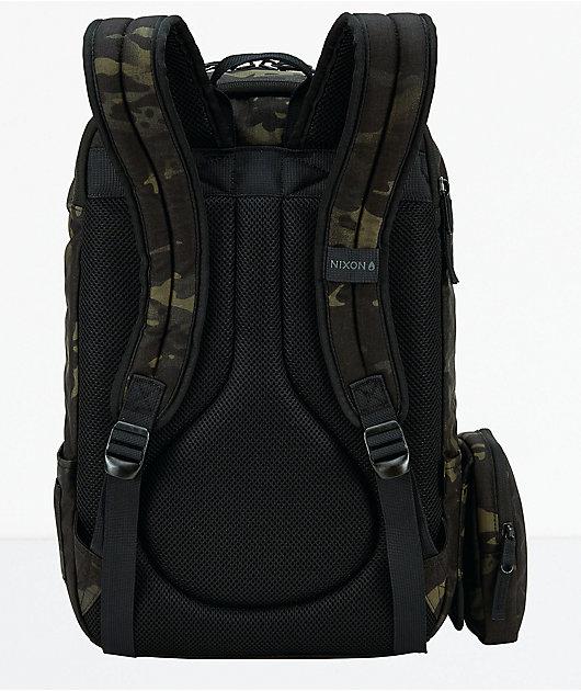 Nixon Daily Black Multicam Backpack
