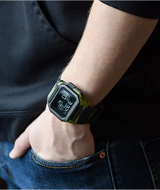 Nixon Regulus Multicam Tropic Digital Watch