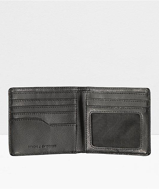 Nixon Showoff Black Bifold Wallet