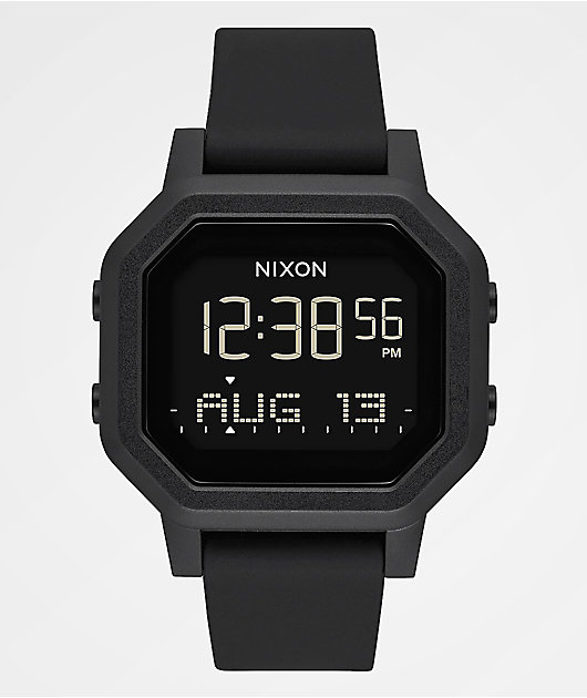 Nixon Siren Black Digital Watch
