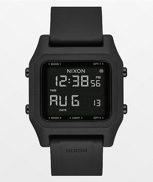 Nixon Staple Black Digital Watch
