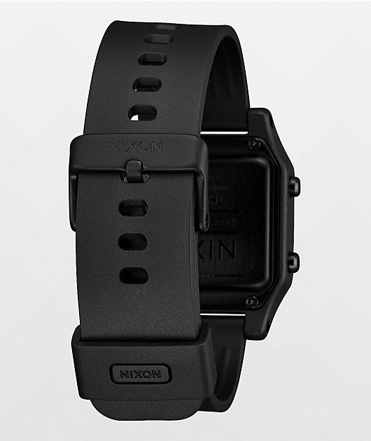Nixon Staple Tide Black Digital Watch