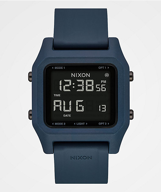 Nixon Staple Tide Dark Slate Digital Watch