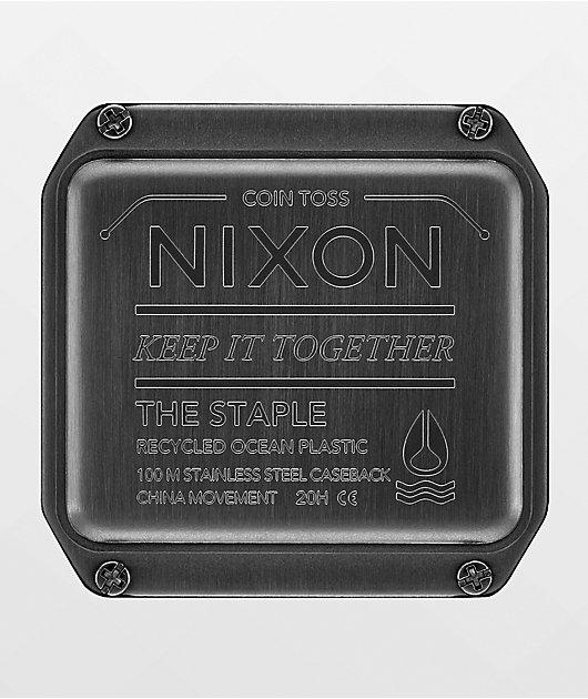 Nixon Staple Tide Olive Digital Watch