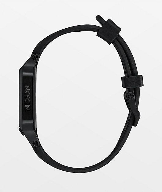 Nixon The Heat Black Digital Watch