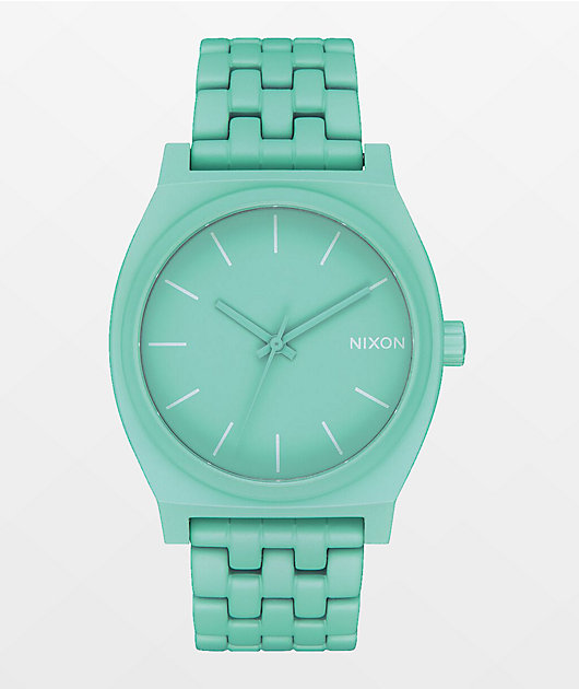 Nixon Time Teller Mint Analog Watch