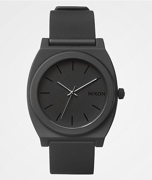 Nixon Time Teller P Matte Black Analog Watch