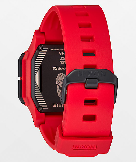 Nixon x Star Wars Regulus Red Trooper Digital Watch