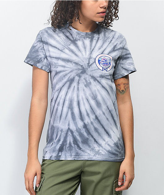 NoHours Borrowed Time Spider Silver Tie Dye T-Shirt