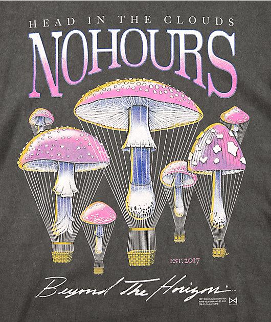 NoHours Clouds Coal Long Sleeve T-Shirt