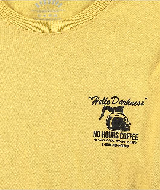 NoHours Hello Gold Long Sleeve T-Shirt