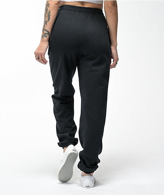 NoHours Inside Out Black Sweatpants