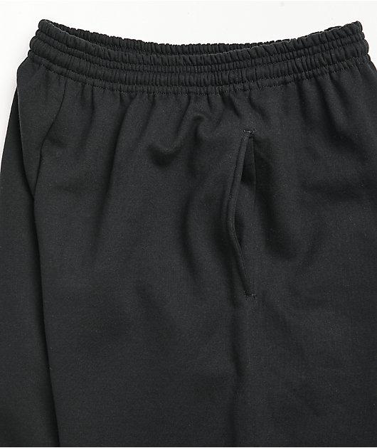 NoHours Past Future Black Sweatpants
