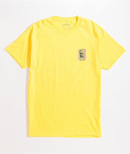 NoHours Salon Yellow T-Shirt