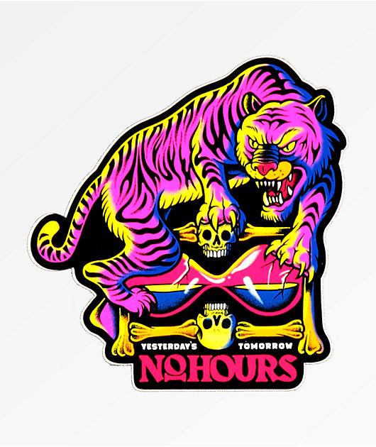 NoHours Yesterdays Tomorrow Sticker