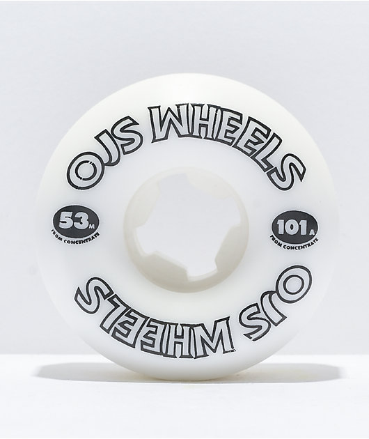 OJ From Concentrate 53mm 101a Skateboard Wheels