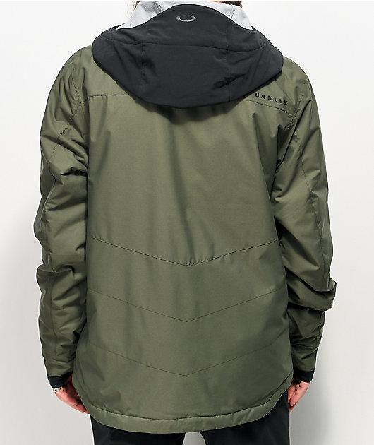 Oakley Division Evo Insula Olive 10K Snowboard Jacket