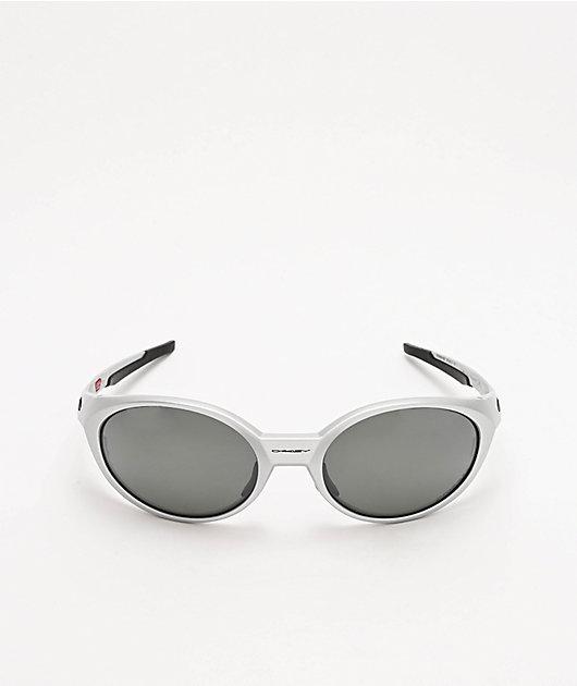Oakley Eye Jacket Silver & Grey Prizm Polarized Sunglasses