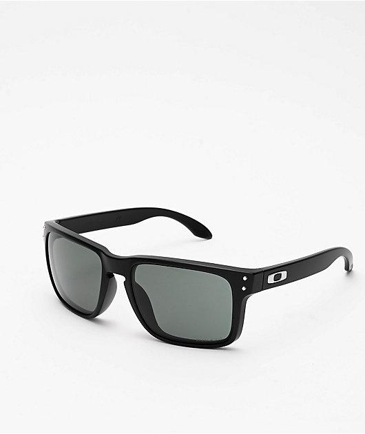 Oakley Holbrook Matte Black & Grey Prizm Sunglasses