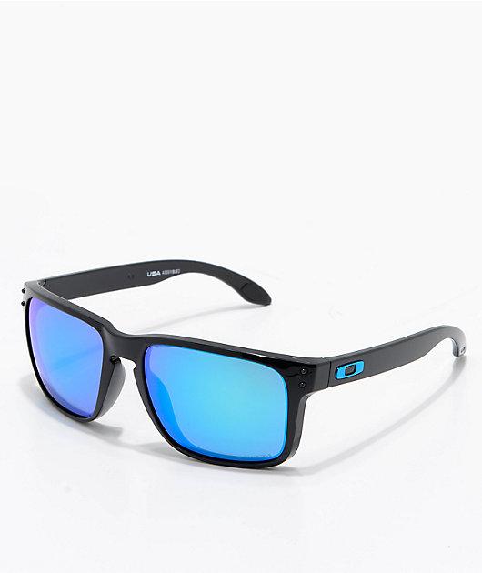Oakley Holbrook XL Black & Prizm Sapphire Sunglasses