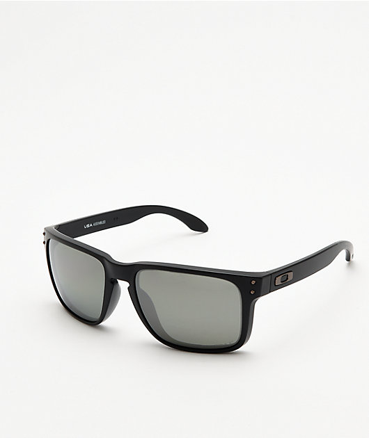 Oakley Holbrook XL Matte Black Prizm Polarized Sunglasses