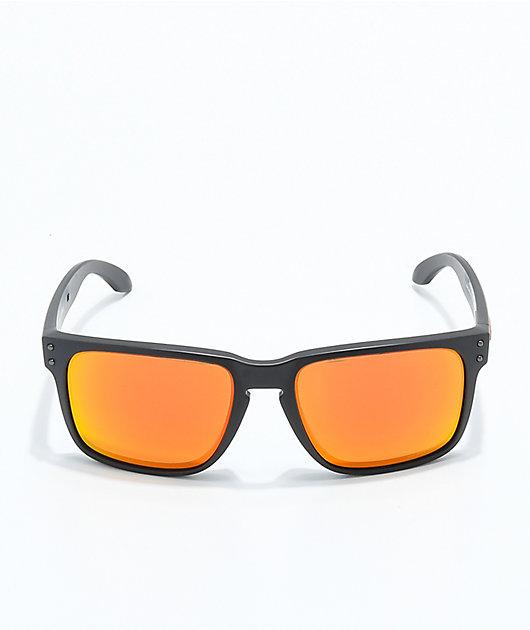 Oakley Holbrook XL Prizm gafas de sol en negro y rojo