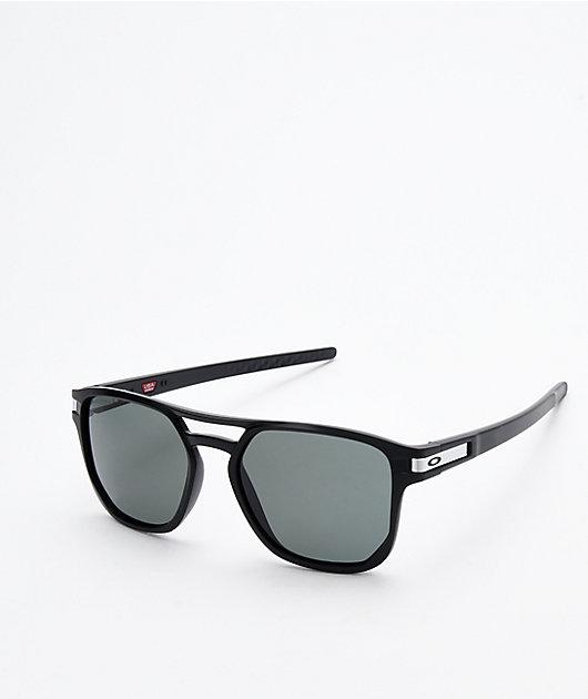 Oakley Latch Beta Matte Black & Prizm Grey Sunglassses
