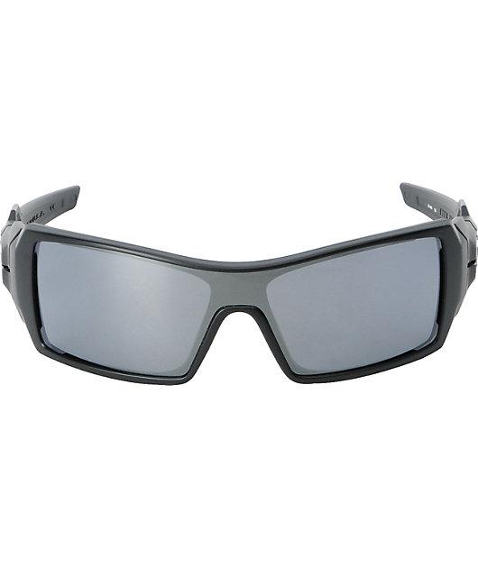 Oakley Oil Rig Matte Black & Black Iridium Sunglasses