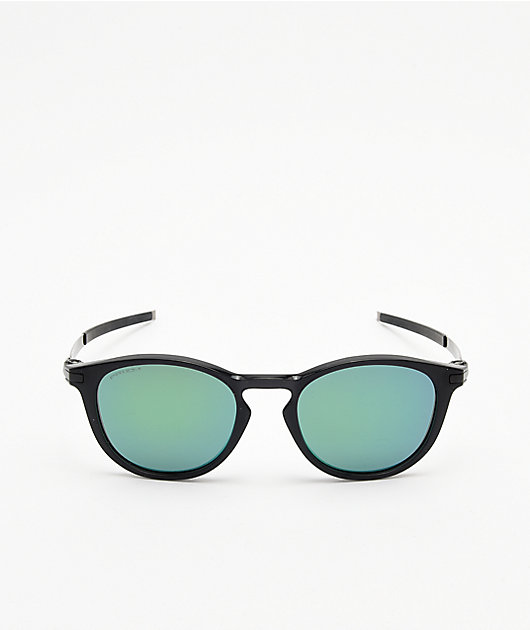 Oakley Pitchman Ink Black & Prizm Jade Sunglasses