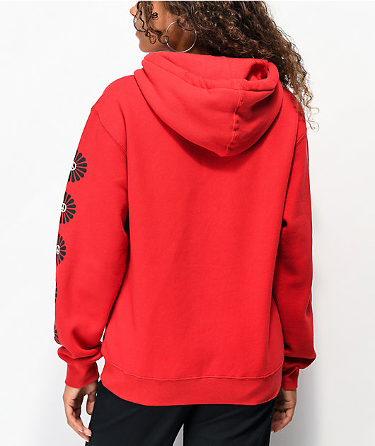 Obey Afrocentric Red Hoodie